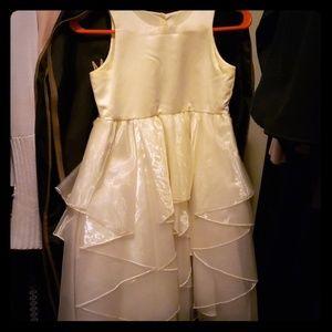 Cream Flowergirl Dress